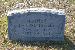 Ida May <i>Byrd</i> Tinsley