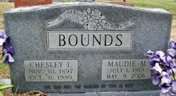 Chesley Isaac Bounds