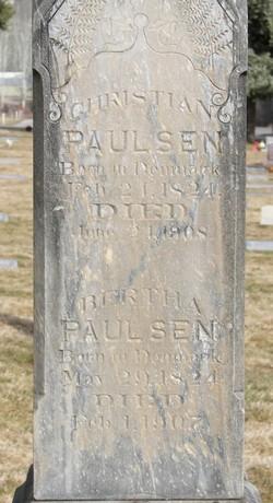 Bertha <i>Hansen</i> Poulsen