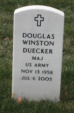 Maj Douglas Winston Duecker