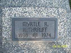 Myrtle R <i>Cox</i> Ruthrauff