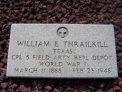 William E Thrailkill