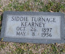 Siddie <i>Turnage</i> Kearney