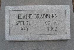 Elaine Bradburn