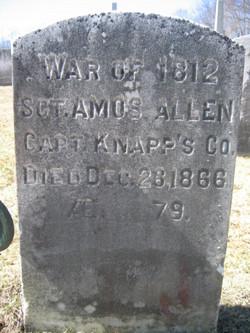 Sgt Amos Allen