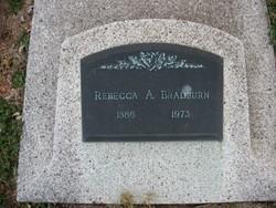 Rebecca A <i>Pate</i> Bradburn