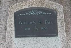 William H Pate