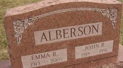 Emma R Alberson