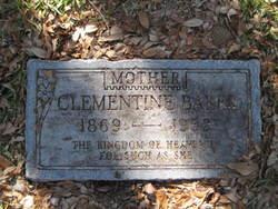 Clementine <i>Peebles</i> Baker