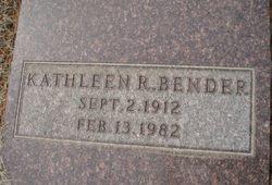 Kathleen Rose <i>Barker</i> Bender