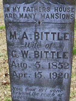 Margaret A. <i>Morton</i> Bittle