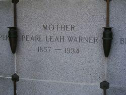 Pearl Leah Warner