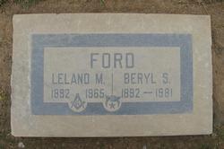 Leland Merritt Ford