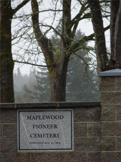 Maplewood Pioneer Cemetery
