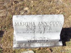 Martha Ann <i>DuBose</i> Cook