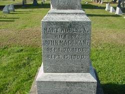 Mary <i>Woolson</i> Magowan