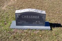 Elizabeth Luella Lula <i>Dunlap</i> Chessher
