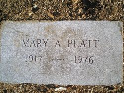 Mary Aldee <i>Lehman</i> Platt