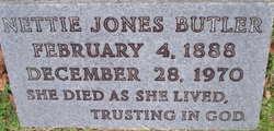 Nettie <i>Jones</i> Butler