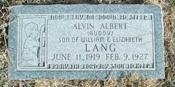 Alvin Albert Buddy Lang