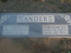 Janie G <i>Anderson</i> Sanders