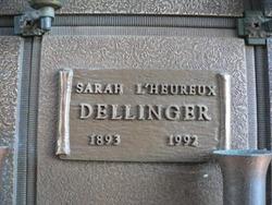 Sarah <i>Brosseau</i> L'Heureux Dellinger
