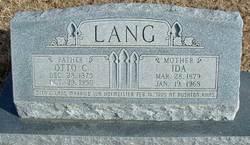 Otto C. Lang