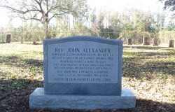 Rev John Alexander
