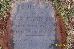Louisa M. <i>McDaniel</i> Harrison