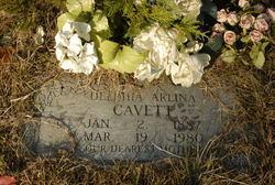 Delphia Arlina <i>Vann</i> Cavett