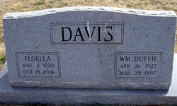 Floella <i>Lewis</i> Davis