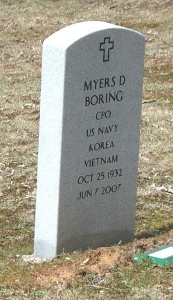 Myers D Boring, Sr