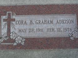 Cora B. <i>Graham</i> Adkison