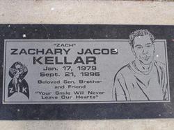 Zachary Jacob Kellar
