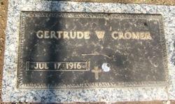 Helen Gertrude <i>Whitsel</i> Cromer