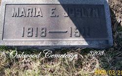 Maria E. <i>Pember</i> Joslyn