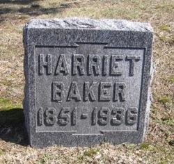 Harriet <i>Gorham</i> Baker