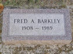 Dr Fred Alexander Barkley
