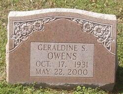 Geraldine <i>Strickland</i> Owens