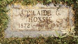 Adelaide Grace ADDIE <i>Ericson</i> Hoxsie