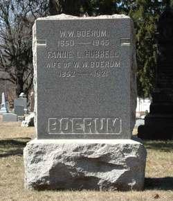 Fannie L <i>Hubbell</i> Boerum