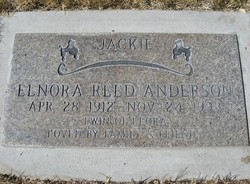 Enora jackie <i>Reed</i> Anderson