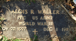 PFC Alois Reginald Al Waller