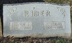 Eleanor E. <i>Holihan</i> Rider