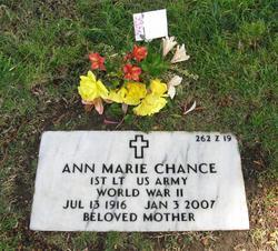 Lieut Ann Marie Chance