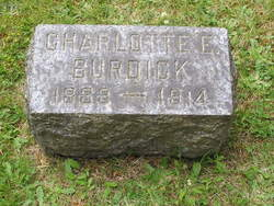 Charlotte E. <i>Larrabee</i> Burdick