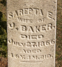 Sarepta E. Baker