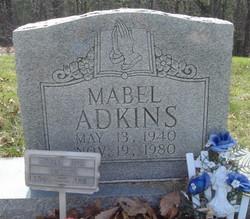 Mabel <i>Holton</i> Adkins