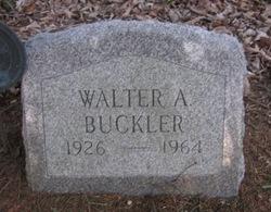 Walter A Buckler