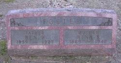 Ben W Foster